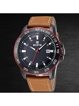 Round Water Resisitant Men Watch