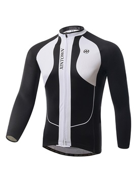 Winter Polyester Long Sleeve Cycle Jersey