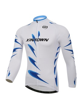 Polyester Spring Long Sleeve Mens Jersey