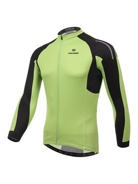 Polyester Green Mens Fast Drying Jersey