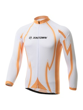 Polyester Long Sleeve Bike Jersey
