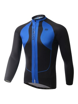 Thermal Winter Fleece Mens Cycle Jersey