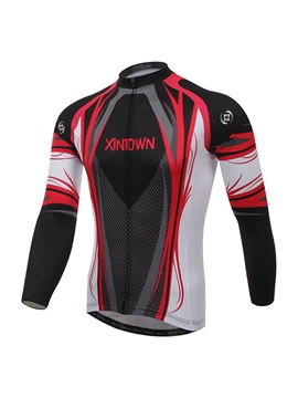 Winter Fleece Long Sleeve Bike Jersey