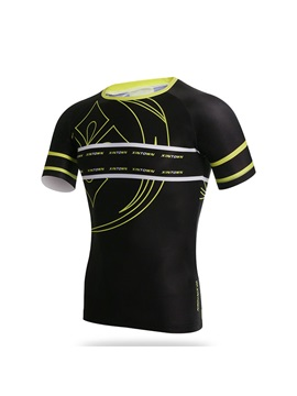 Short Sleeve Mens Quick Drying Jersey