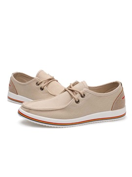 Canvas Lace Up Front Casual Shoes