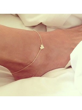 E Plating Alloy Women Anklet