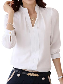Special Collar Slim Shirt