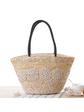 Stylish Weave Women Straw Bag