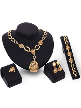 Hollow Stylish Fashion Women Jewelry Set