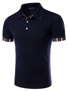 Regular Fit Short Sleeve Mens Casual Tee