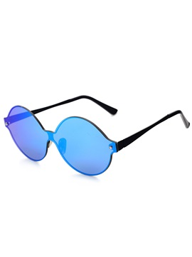 Round Fashion Without Border Unisex Sunglasses