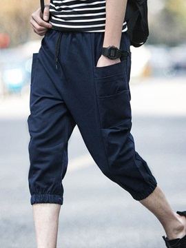 Elastics Mens Relaxed Fit Casual Pants