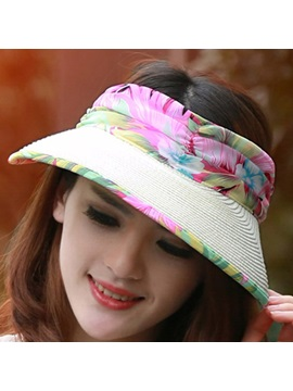 Printing Uv Protection Sun Hat For Women