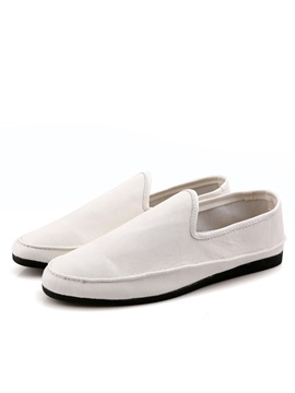 Cozy Pu Round Toe Slip On Driving Shoes