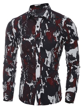 Vogue Camouflage Mens Casual Shirt