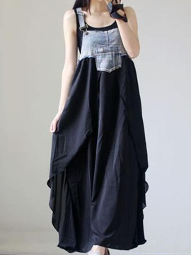 Denim Sleeveless Day Dress