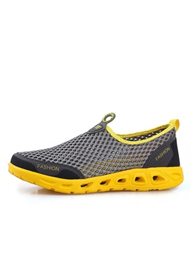 Breathable Mesh Slip On Mens Loafers