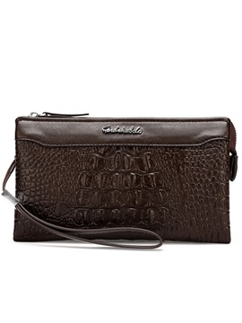 Handsome Croco Embossed Mens Bag