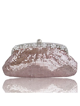 Shining Sequins Decorated Womens Clutch