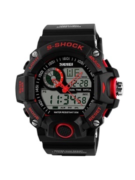 Analog Digital Waterproof Electronic Men Sport Watch