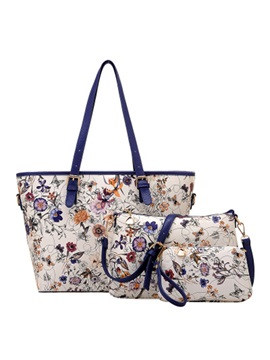 Lastest Floral Printed Bag Set