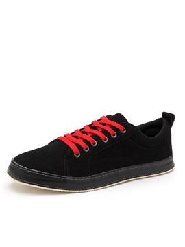 Suede Lace Up Casual Shoes For Men