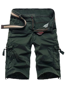 Zipper Mens Pockets Overalls