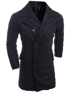 Double Breasted Mens Trench Coat