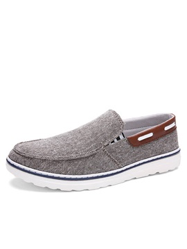 Soft Linen Slip On Casual Shoes