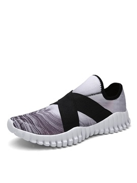 Breathable Thread Slip On Running Shoes