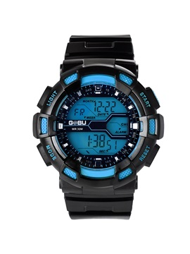 Multifunctional Led Luminous Mens Sports Watch