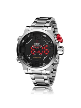 Double Movement Three Pointers Mens Watch
