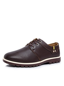 British Round Toe Casual Shoes For Men