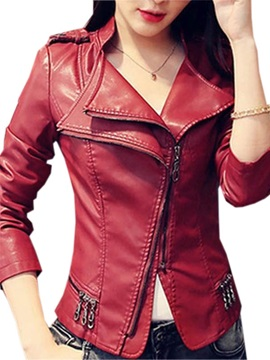Cool Zipper Decoration Double Layer Jacket