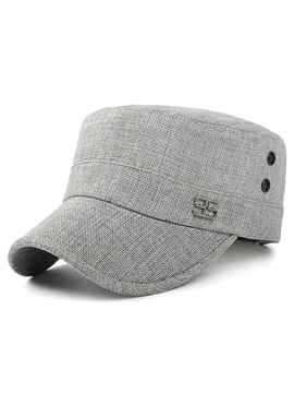 Fashion Linen Mens Casual Baseball Cap