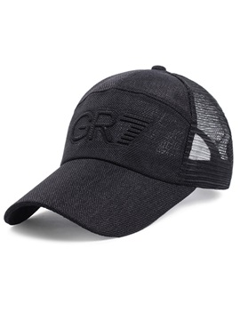 Fashion Mesh Embroidered Mens Outdoor Hat