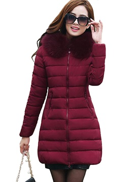 Special Warm Collar Overcoat