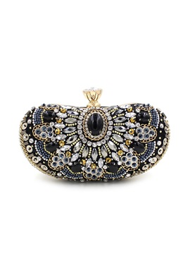 Elegant Colors Rhinestone Evening Clutches