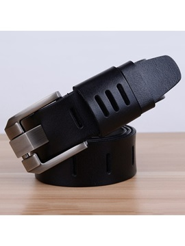 Pure Leather Mens Casual Belt