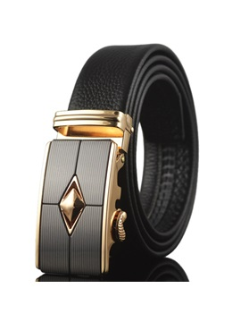 Geometrical Pattern Design Mens Belt