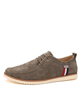 Suede Tie Up Mens Casual Shoes