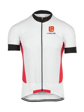 Color Block Full Zip Mens Bike Jersey