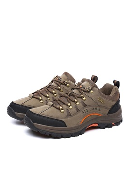 Wear Resistant Lace Up Outdoor Shoes