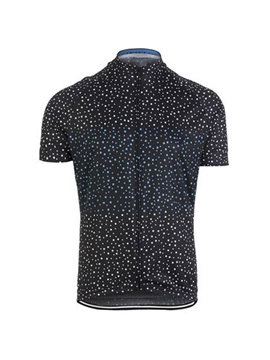 Polyester Allover Printed Mens Bike Jersey