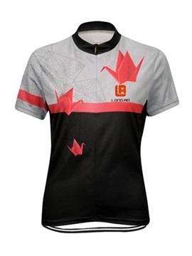 Polyester Short Sleeve Cycle Jersey For Men