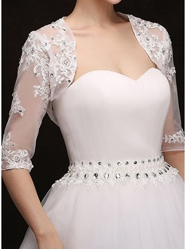 Lace Wedding Jacket
