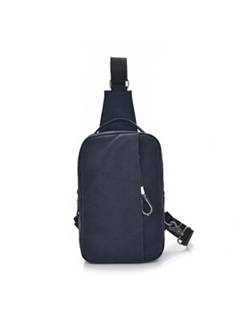 Simple Canvas Mens Chest Bag