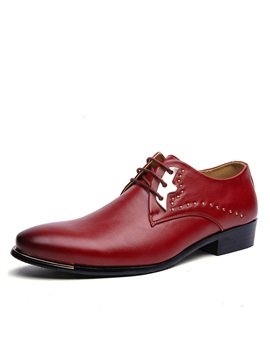 Elegant Pu Studded Mens Dress Shoes