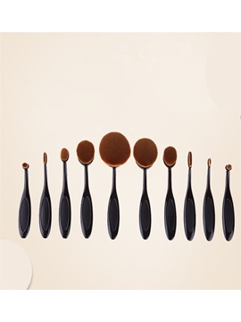 Super Densely Fine Fiber Foundation Brush 10 Set