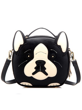 Lovely Doggy Type Womens Satchel